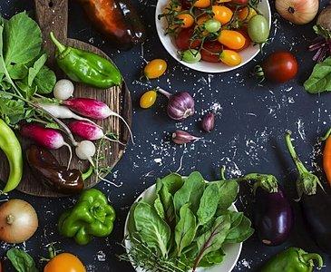 食べ物でカラダを整える陰陽五行の考え方のイメージ
